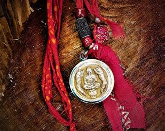 ZEN BUDDHA SHAMBAHALA necklace