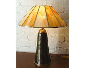 Designer table lamp light object 'India summer'