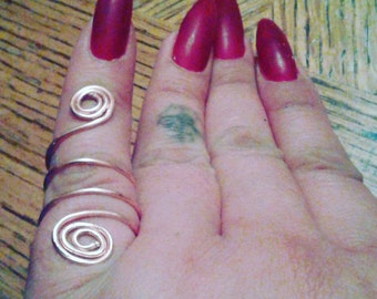 Handcrafted Copper Adjustable Ring