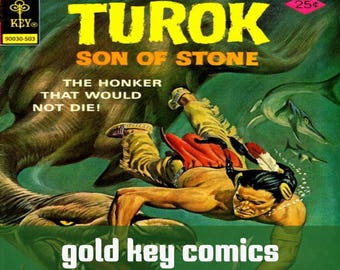 Gold Key Comics Early Turok Magnus robot fighter and Solar