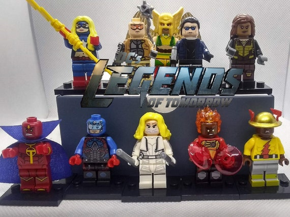 Brand New Lot of DC Legends of Tomorrow figures White Canary Atom Firestorm