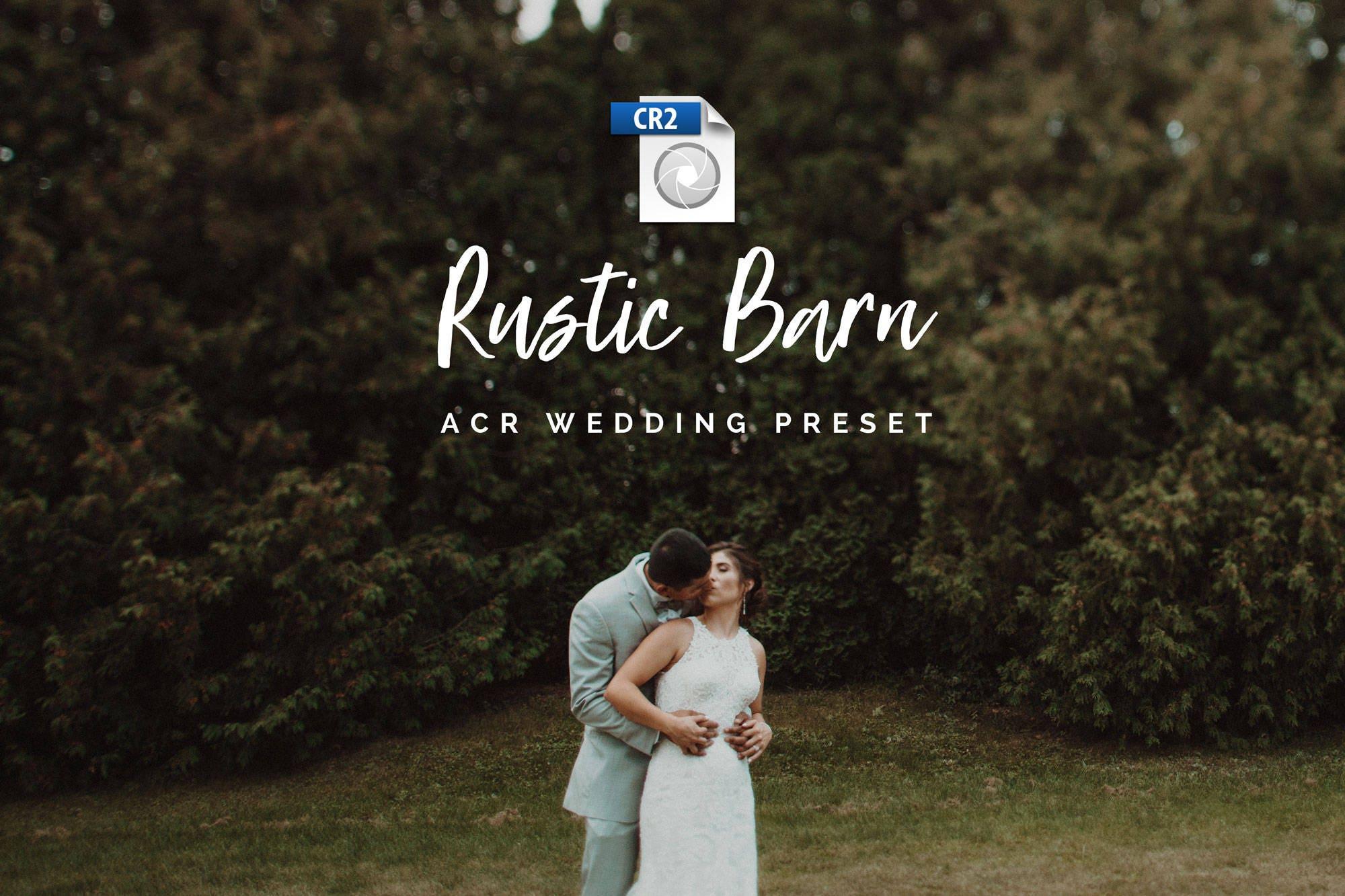 Moody Tones Wedding Adobe Camera Raw Preset, Photoshop Preset, Dark Film  Style, Rustic Film Preset