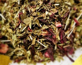 Jack Skeleton - Organic Herbal Blend, Good for Bones, Healthy Tea, Tisane, Peppermint, Oat Straw, Hibiscus, Nettle, Dandelion Leaf
