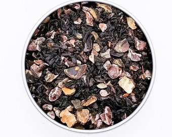 J-Hope - BTS Themed Tea, Red Tea, Red Rooibos, Assam, Carob, Chicory, Cacao Nibs, Coffee Substitute, Organic, Chocolate, Fresh