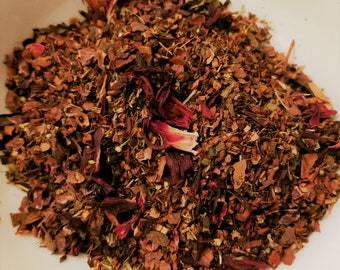 You Had Me at Hello - Cacao, Vanilla, Honeybush, Hibiscus, Strawberry, Dessert tea, Chocolate, Strawberry, Guilt free