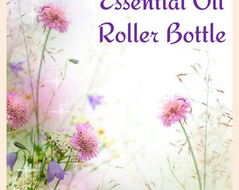 Essential Oil Roller Bottle - 10ml, Allergies, Sleep, Mood Lifting, Cold, Illness, All Natural, Chemical-free, Child-Friendly, Essential oil