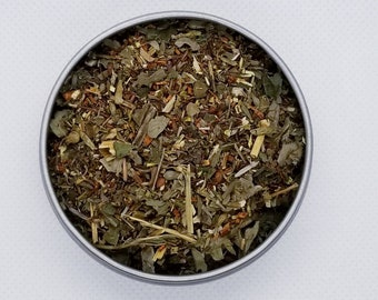 Medusa's Madness - Herbal Tea Blend, Rooibos, Caffeine-Free, Dandelion Leaf, Violet Leaf, Catnip, Blackberry Leaf, Strawberry Leaf