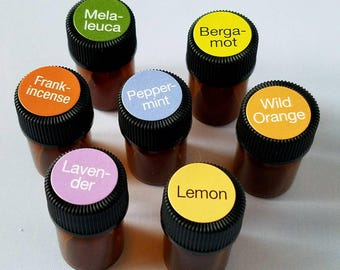 Individual Samples of Essential Oils - 5/8 dram (35-40 drops), Certified Therapeutic Grade