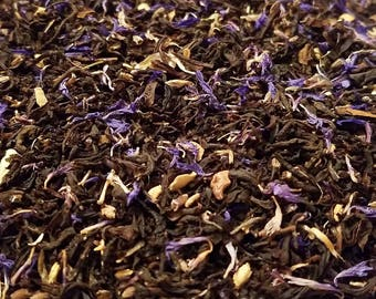 Dorian Gray Exposed! - Smokey, Earl Grey, Cacao, Loose Leaf Tea, Unique Gift, Gift for Self
