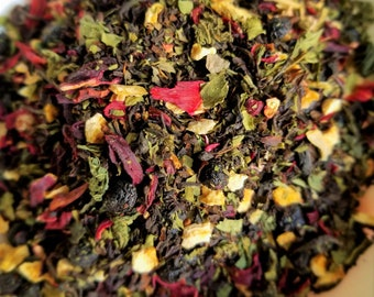 Dracula - Vlad the Impaler, Horror Movie Theme Tea, Good-for-Blood Tea, Nettle, Iron-Rich, Vampire, Night Bat