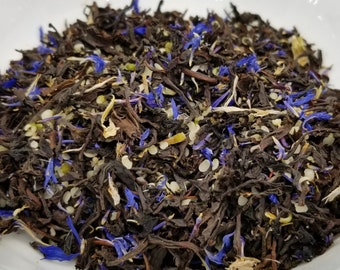 Dodo Bird - Alice in Wonderland, Refine Tea, Earl Grey, Black Tea, Bergamot, Cornflower, Hemp Seed