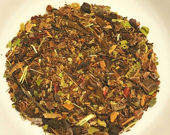 Venus Seduction - Organic Tea, Libido Lift, Sex, Catuaba, Cacao, Hibiscus, Carob, Vanilla Roobios, Passionflower, Lemon Verbena, Schisandra