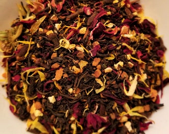 The Craft - Spice Tea, Witch Tea, Teen Witches, Horror Movie theme tea, Cinnamon, Clove, Cardamom, Black Tea, Hibiscus