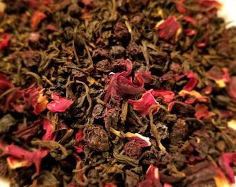 Saw - Herbal Tea, Horror Movie Theme, Black Tea, Hibiscus, Bilberry, Jigsaw