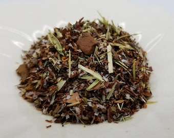The Walrus - Alice in Wonderland, Coconut and Chocolate, Coconut Rooibos, Oat Straw, Cacao Shells, Cinnamon, Herbal Tea