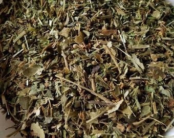 Sleep Easy - All Herbal, Organic, Nighttime Tea, Sleep Tea, Valerian, Lemon Balm, Linden Leaf, Hawthorn Leaf, Spearmint