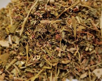Peaceful Buddha - Relax tea, Caffeine free, Lemon Balm, Green Rooibos, St Johns Wort, Rhodiola Root, Honeysuckle, Linden Leaf, Peace