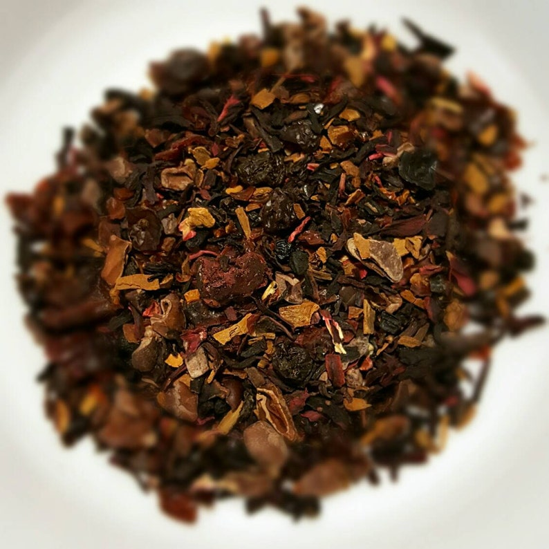 Not My Mama's Merlot Organic Herbal Tea Loose Leaf Tea image 0