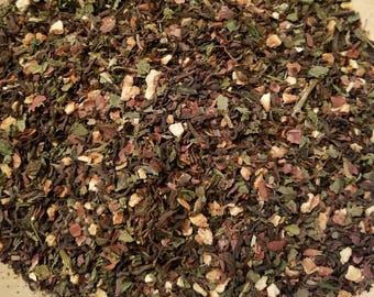 Earth - Element Herbal tea, Certified Organic, Vegan, Assam, Black Tea, Dandelion, Nettle, Cacao