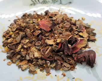 Make Mine Mocha - Organic, Herbal Tea Blend, Chocolate Tea, Mocha Chocolate Herbal Blend, Coffee Alternative