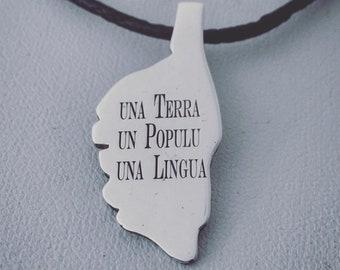 Corsica Silver 925 pendant