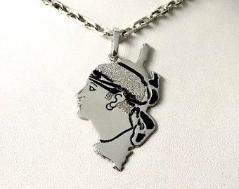 Corsican pendant and Moor's Head