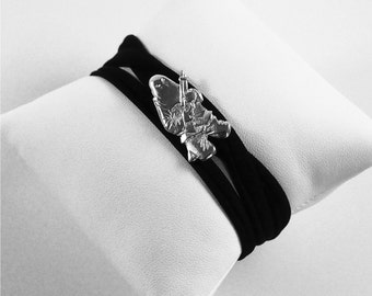 Lycra Ribellu silver bracelet 925