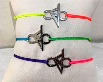 Corsica infinity cords colors of summer bracelet