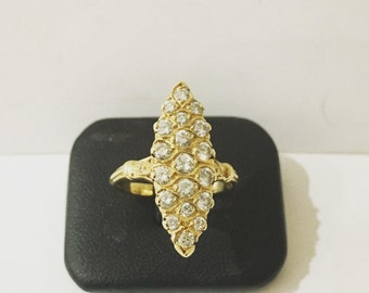 Ring GOLD 750 and Diamonds