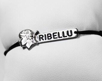 """""""Robert"""" bracelet 925 sterling silver & jade cord"""