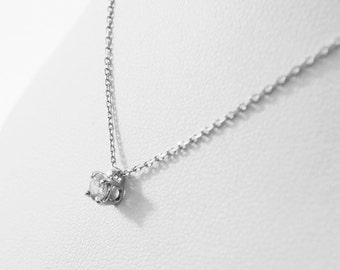 0.20 carat diamond pendant necklace