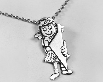 Pendant Child little Corsican girl