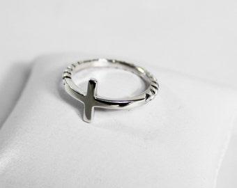 Ring Silver 925 crosses