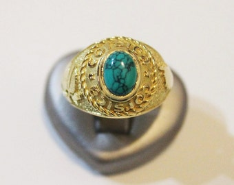 """""""CORSICA"""" Signet Ring in gold 750"""