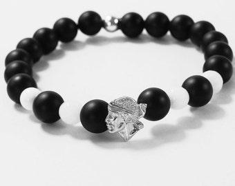 Moor tete bead bracelet