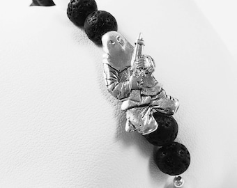 Pearl bracelet and Ribellu silver 925