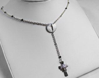 Chapelet Corsica necklace - Onyx