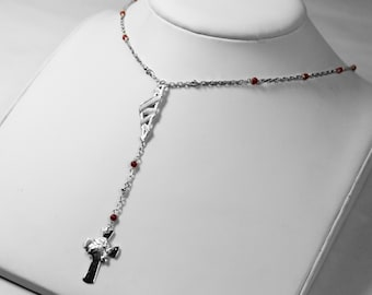 Chapeland Corsica necklace - Coral