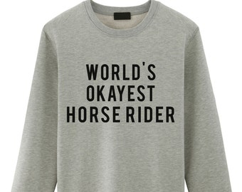 Horse, gift for horse lovers, Horse sweater, Horse riding, Funny horse rider Sweater - 377