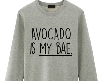 Avocado, Avocado Sweater, Avocado Is My Bae Sweater - 1235