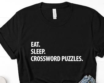 Crossword T Shirt Etsy