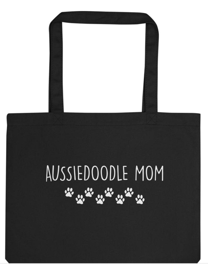 Aussiedoodle Mom Tote Bag 2122 Long Handle Bags