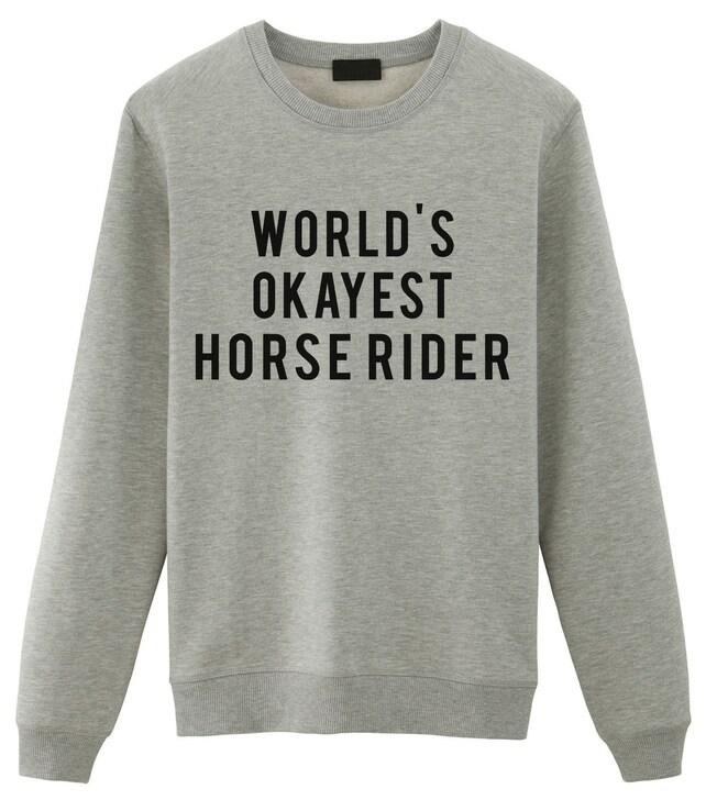 Horse lover's sweatshirt