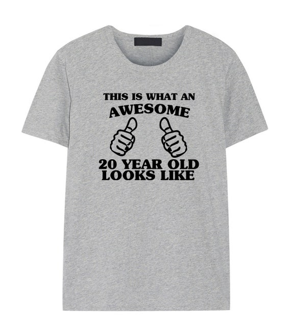 20th Birthday Gift Shirt For Son Daughters
