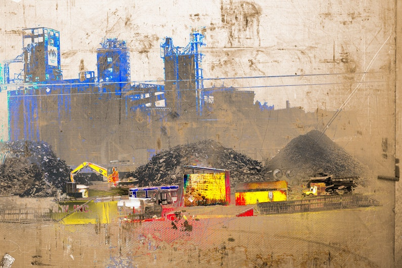 Industrial Landscape 5 No.1  Limited Edition of 5 factory image 0