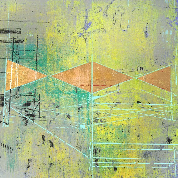 Cat's Cradle, contemporary abstract, limited edition print