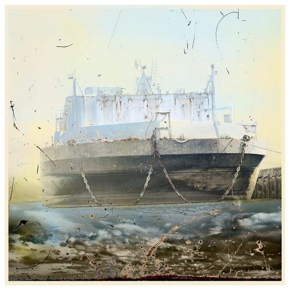 Dream Ship, limited edition fine art print
