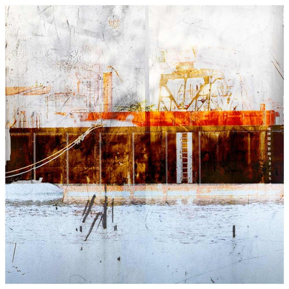 Barge, limited edition fine art print