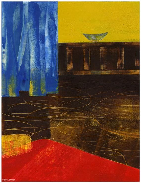 Hotel Morning Bed Painting by Iskra, sleep studies