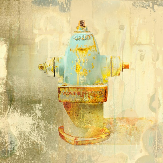 Waterous, limited edition fire hydrant print